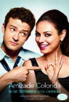 Friends with Benefits - Brazilian Movie Poster (xs thumbnail)