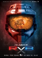 """Red vs. Blue: The Blood Gulch Chronicles"" - DVD movie cover (xs thumbnail)"