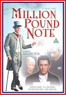The Million Pound Note - British Movie Cover (xs thumbnail)