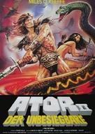 Ator 2 - L'invincibile Orion - German Movie Poster (xs thumbnail)