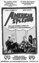 American Splendor - German poster (xs thumbnail)