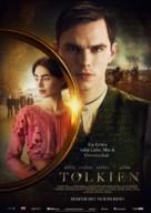 Tolkien - German Movie Poster (xs thumbnail)