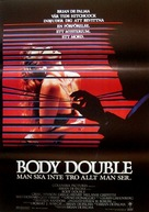 Body Double - Swedish Movie Poster (xs thumbnail)