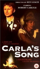 Carla's Song - British Movie Cover (xs thumbnail)