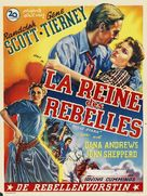 Belle Starr - Belgian Movie Poster (xs thumbnail)