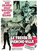 The Treasure of Pancho Villa - French Movie Poster (xs thumbnail)