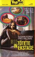 Sie tötete in Ekstase - German VHS movie cover (xs thumbnail)