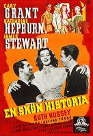 The Philadelphia Story - Swedish Movie Poster (xs thumbnail)