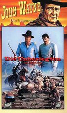 The Undefeated - German VHS cover (xs thumbnail)