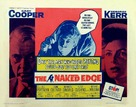The Naked Edge - Movie Poster (xs thumbnail)