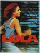 Lola Rennt - French Movie Poster (xs thumbnail)
