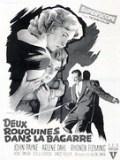 Slightly Scarlet - French Movie Poster (xs thumbnail)