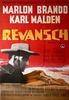 One-Eyed Jacks - Swedish Movie Poster (xs thumbnail)