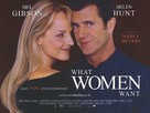 What Women Want - British Movie Poster (xs thumbnail)