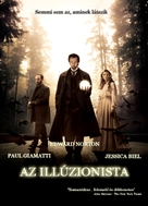 The Illusionist - Hungarian Movie Poster (xs thumbnail)