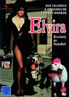 Elvira, Mistress of the Dark - German DVD cover (xs thumbnail)