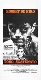 Raging Bull - Italian Theatrical poster (xs thumbnail)