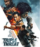 Triple Threat - Blu-Ray movie cover (xs thumbnail)