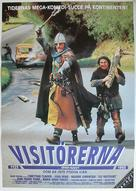 Les visiteurs - Swedish Movie Poster (xs thumbnail)