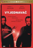 The Negotiator - Czech DVD cover (xs thumbnail)