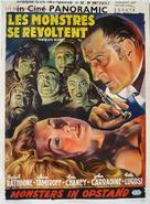 The Black Sleep - Belgian Movie Poster (xs thumbnail)