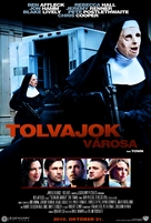 The Town - Hungarian Movie Poster (xs thumbnail)
