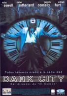 Dark City - Spanish DVD movie cover (xs thumbnail)