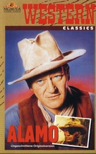 The Alamo - German VHS cover (xs thumbnail)