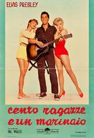 Girls! Girls! Girls! - Italian Movie Poster (xs thumbnail)