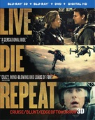 Live Die Repeat: Edge of Tomorrow - Blu-Ray cover (xs thumbnail)