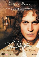 The Libertine - Finnish DVD cover (xs thumbnail)