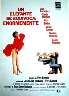 Un éléphant ça trompe énormément - Spanish Movie Poster (xs thumbnail)