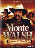 Monte Walsh - French DVD cover (xs thumbnail)