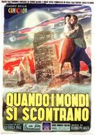 When Worlds Collide - Italian Movie Poster (xs thumbnail)