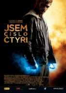 I Am Number Four - Czech Movie Poster (xs thumbnail)