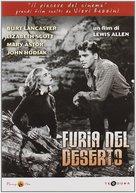 Desert Fury - Italian DVD cover (xs thumbnail)