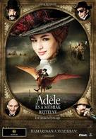 Les aventures extraordinaires d'Adèle Blanc-Sec - Hungarian Movie Poster (xs thumbnail)
