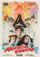 French Cancan - Spanish Movie Poster (xs thumbnail)