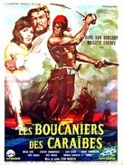 Il conquistatore di Maracaibo - French Movie Poster (xs thumbnail)