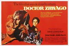 Doctor Zhivago - British Movie Poster (xs thumbnail)