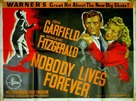 Nobody Lives Forever - British Movie Poster (xs thumbnail)