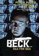"""""""Beck"""" Öga för öga - Swedish poster (xs thumbnail)"""