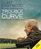 Trouble with the Curve - Swedish Blu-Ray cover (xs thumbnail)