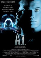 Artificial Intelligence: AI - German Movie Poster (xs thumbnail)