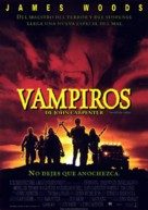 Vampires - Spanish Movie Poster (xs thumbnail)