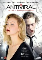 Antiviral - Danish DVD cover (xs thumbnail)