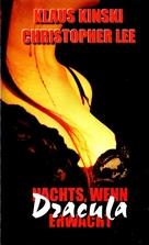 Nachts, wenn Dracula erwacht - German VHS cover (xs thumbnail)