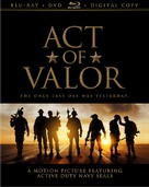 Act of Valor - Blu-Ray cover (xs thumbnail)