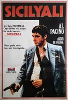 Scarface - Turkish Movie Poster (xs thumbnail)