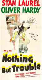 Nothing But Trouble - Movie Poster (xs thumbnail)